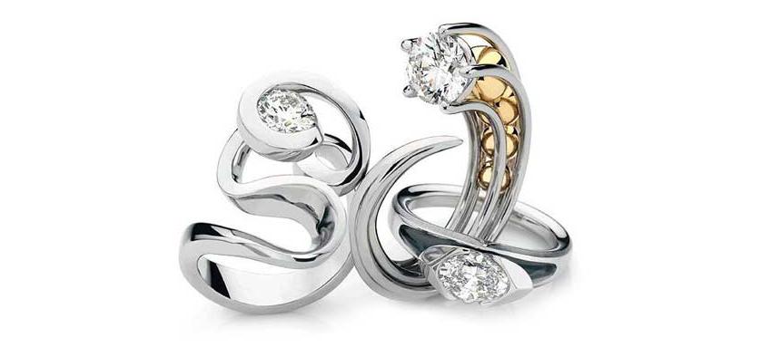 "FINALIST – 2007 Harper's Bazaar Diamond Solitaire Award ""Love Boat"""